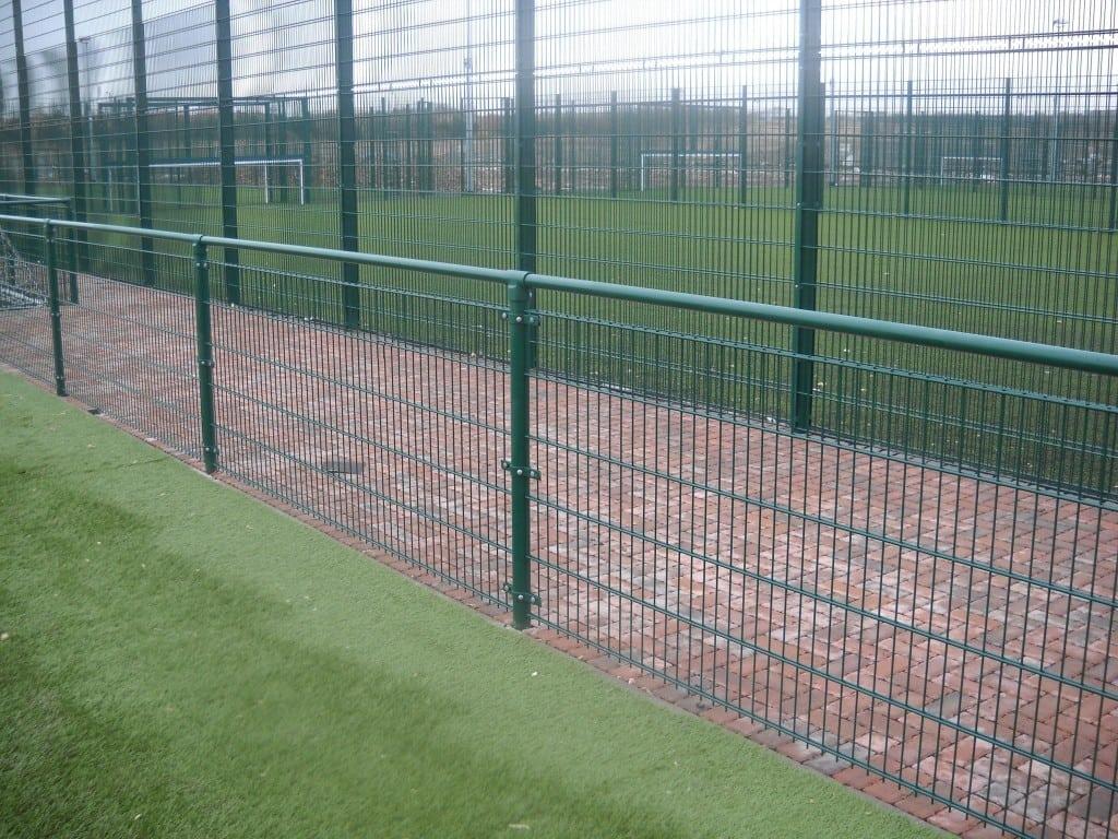 Sports fencing Spectator rail