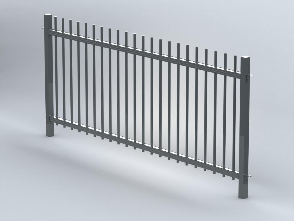 TR100 capped railings