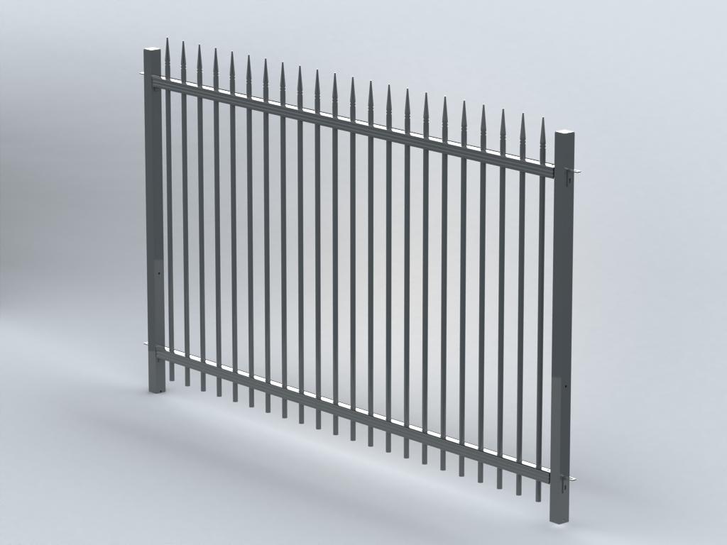 TR300 finial railings