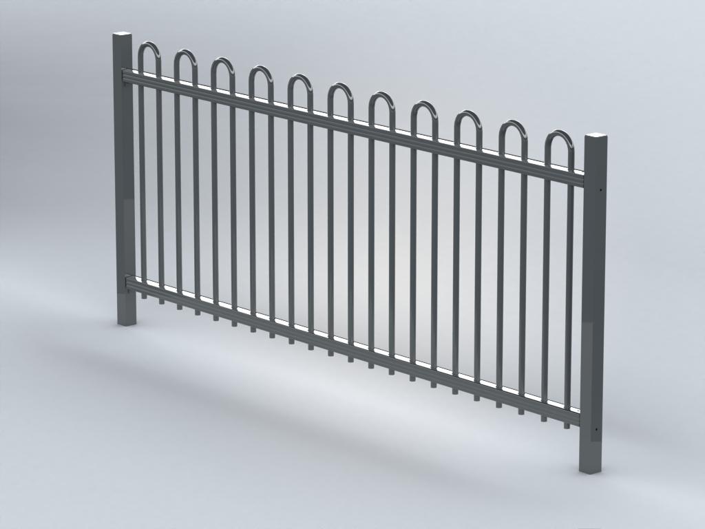 TR700 bow top railings